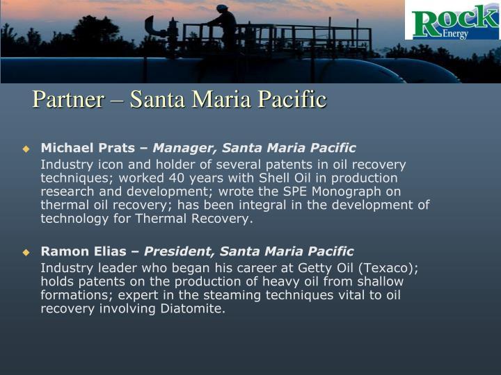 Partner – Santa Maria Pacific