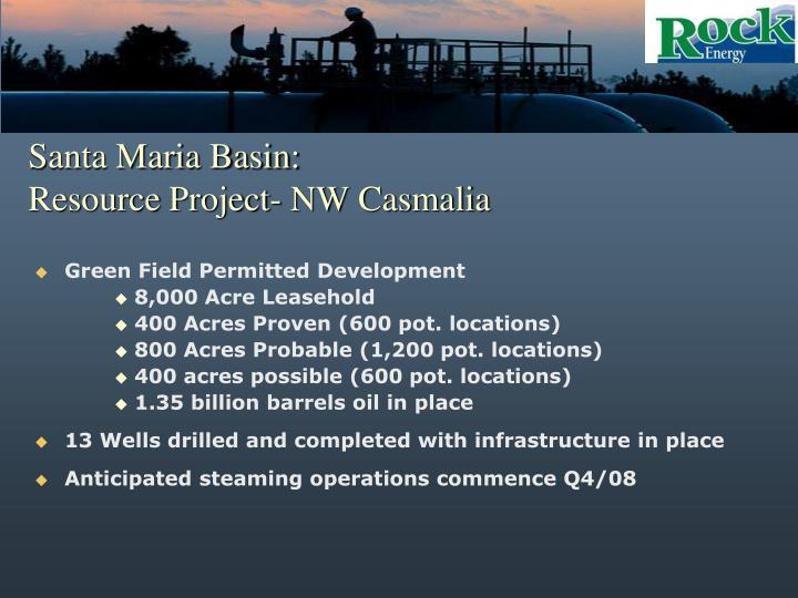 Santa Maria Basin: