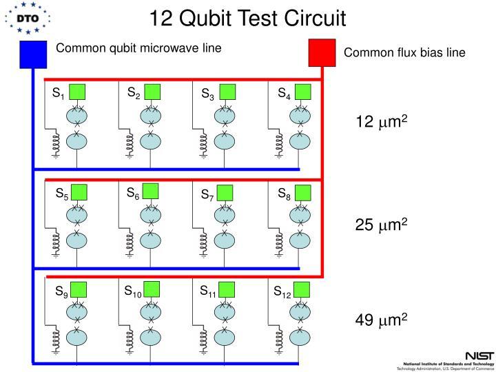12 Qubit Test Circuit