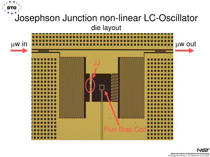 Josephson Junction non-linear LC-Oscillator