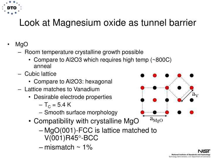 Look at Magnesium oxide as tunnel barrier