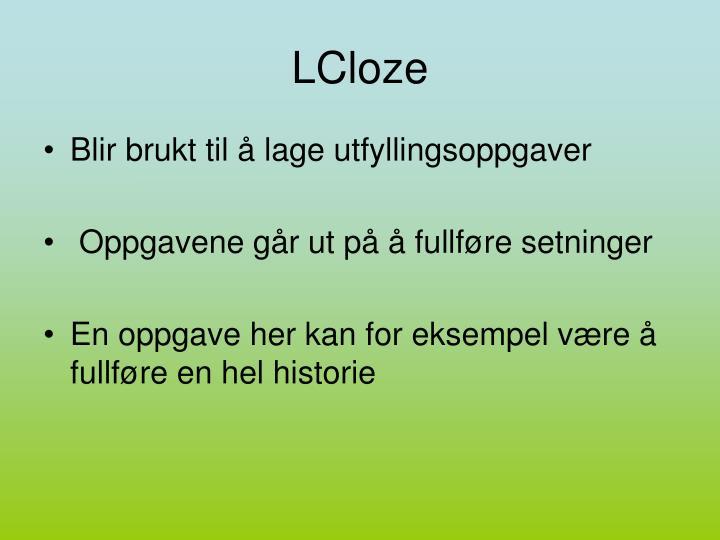 LCloze