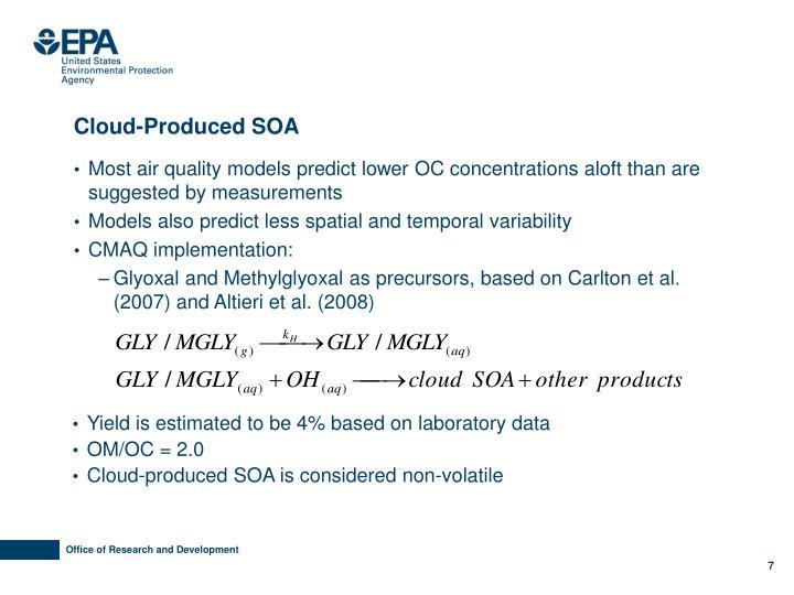 Cloud-Produced SOA