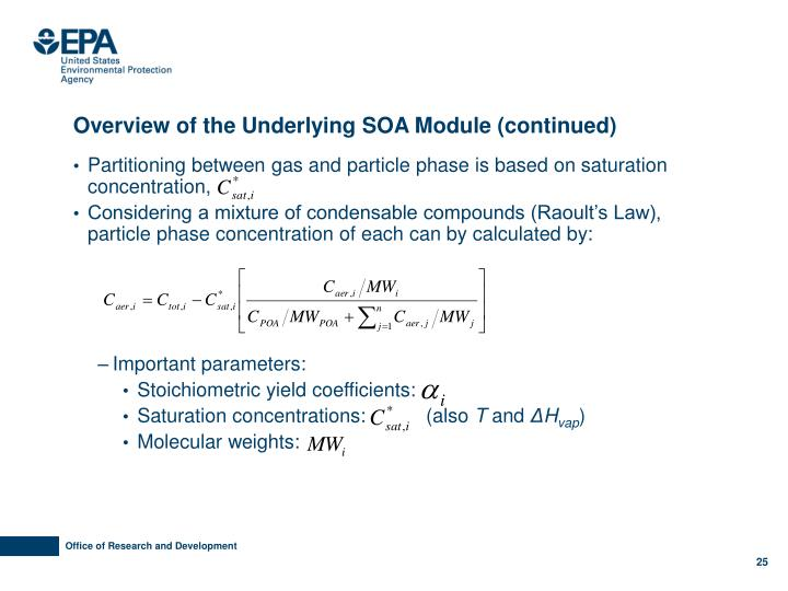 Overview of the Underlying SOA Module (continued)