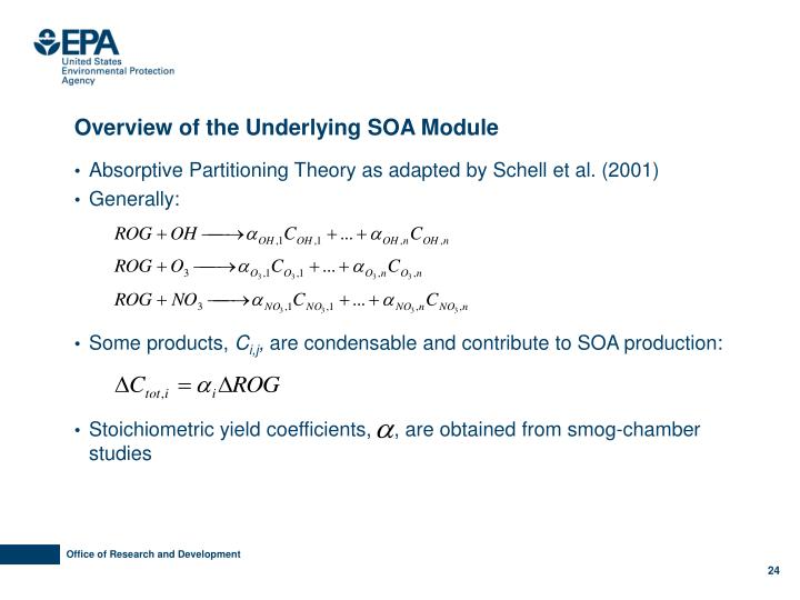 Overview of the Underlying SOA Module