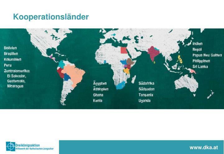 Kooperationsländer
