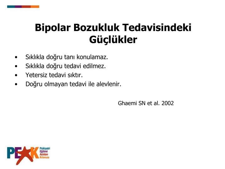 Bipolar Bozukluk Tedavisindeki Glkler
