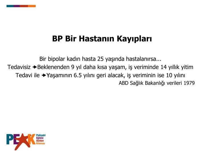BP Bir Hastann Kayplar