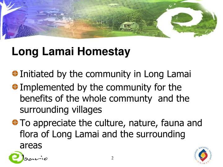 Long Lamai Homestay