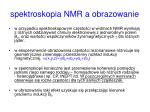 spektroskopia nmr a obrazowanie3