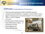 examples of partial success1