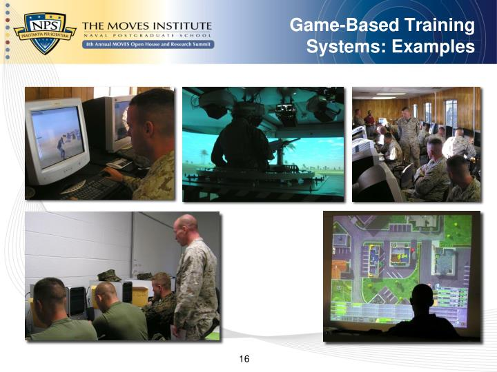 Game-Based Training Systems: Examples