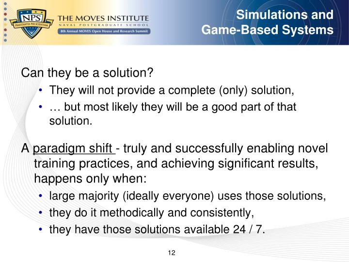 Simulations and