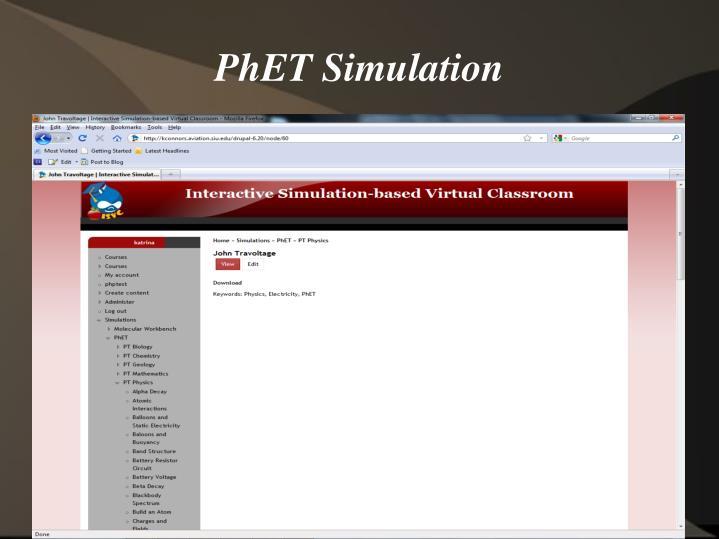 PhET Simulation