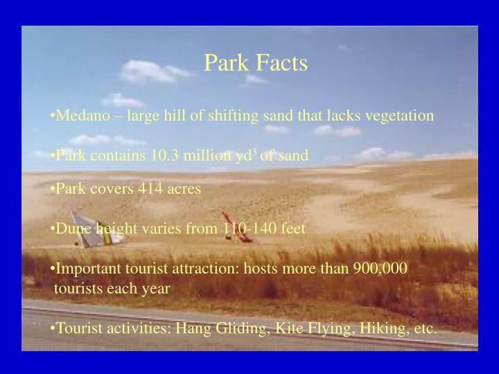Park Facts