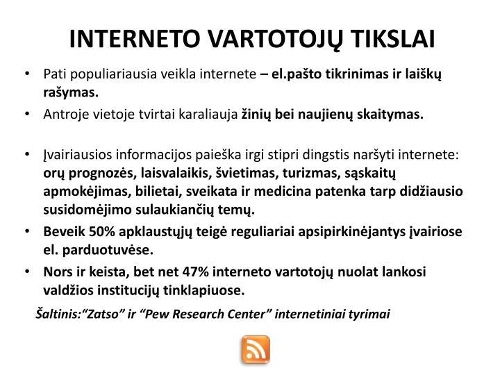 INTERNETO VART