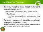 identifikasi dan otentikasi1