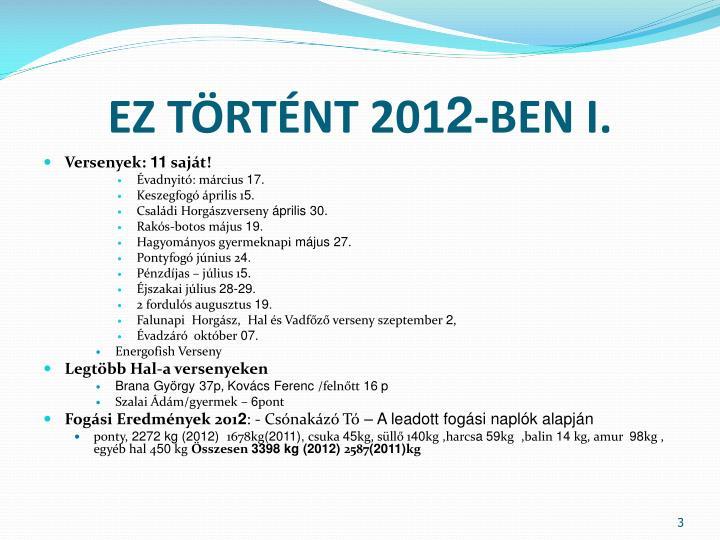 EZ TÖRTÉNT 201