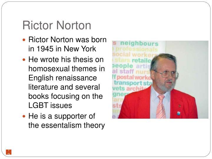 Rictor Norton