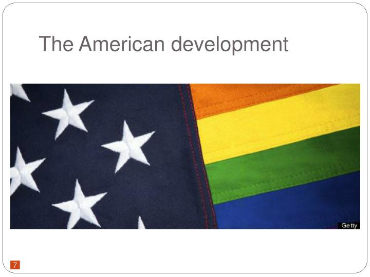 The American development