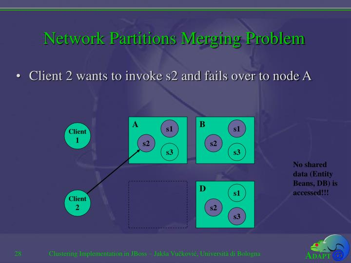 Network Partitions Merging Problem