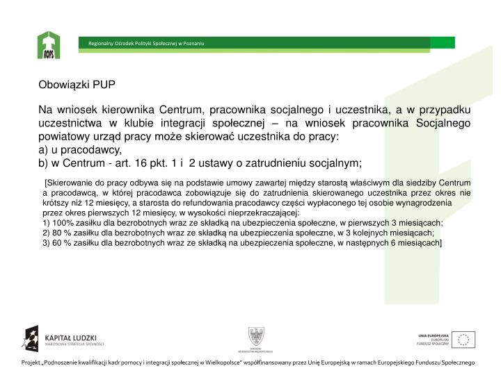 Regionalny Ośrodek Polityki Społecznej w Poznaniu