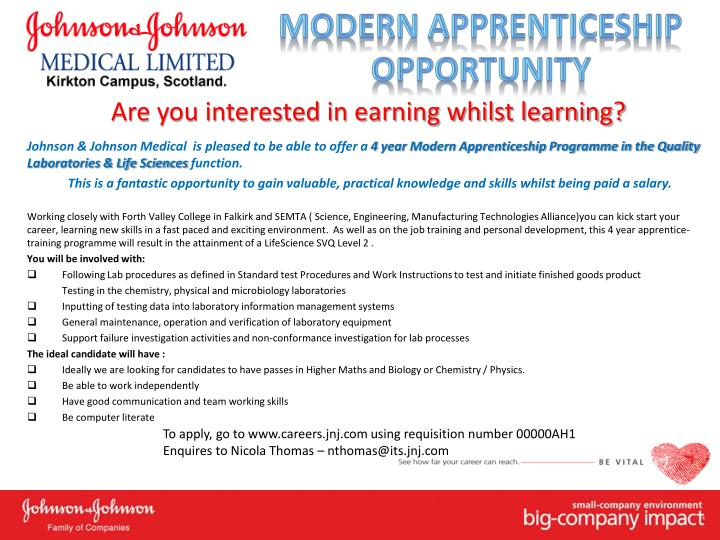Are you interested in earning whilst learning