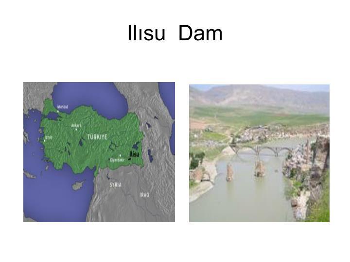 Ilısu  Dam