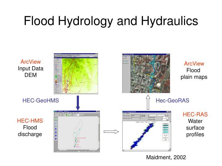 Flood Hydrology and Hydraulics