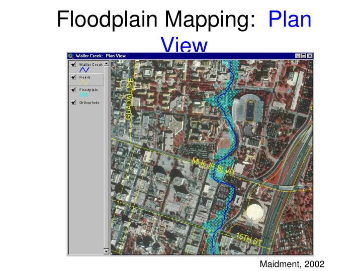 Floodplain Mapping: