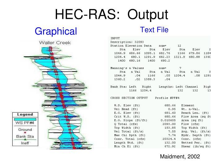 HEC-RAS: