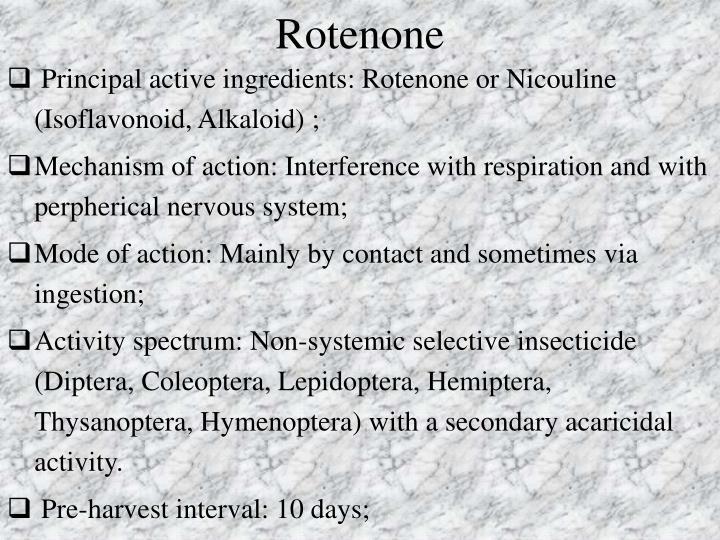Rotenone