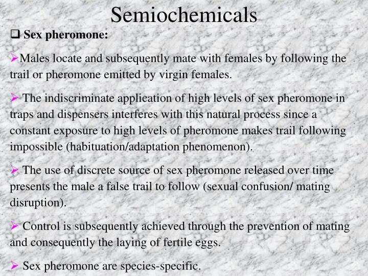 Sex pheromone: