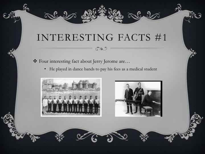 Interesting FACTS #1