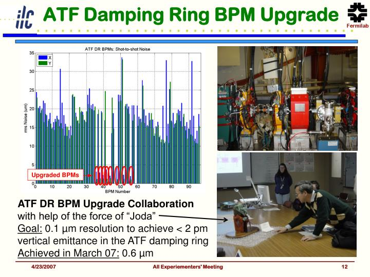 ATF Damping Ring BPM Upgrade