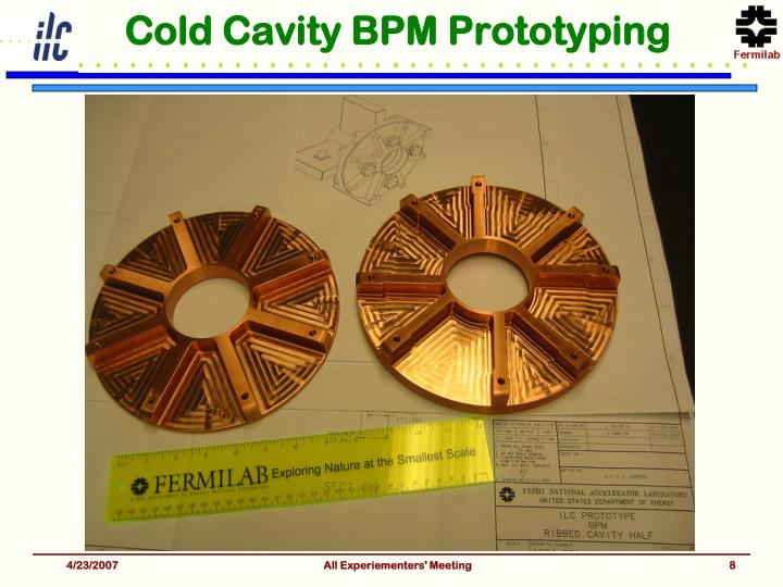 Cold Cavity BPM Prototyping