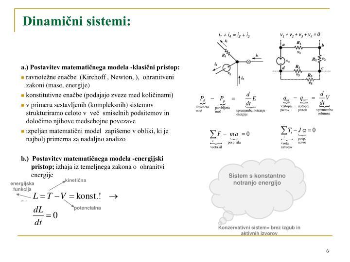 Dinamični sistemi