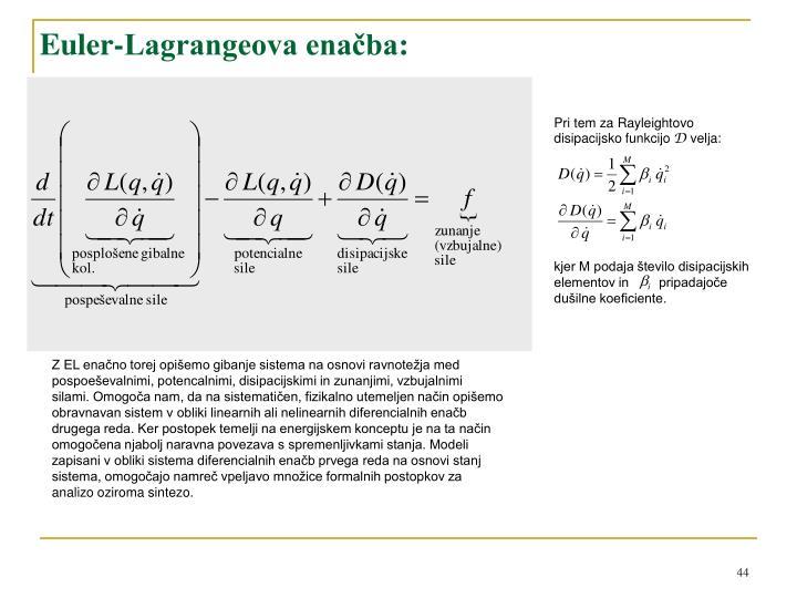 Euler-Lagrangeova enačba