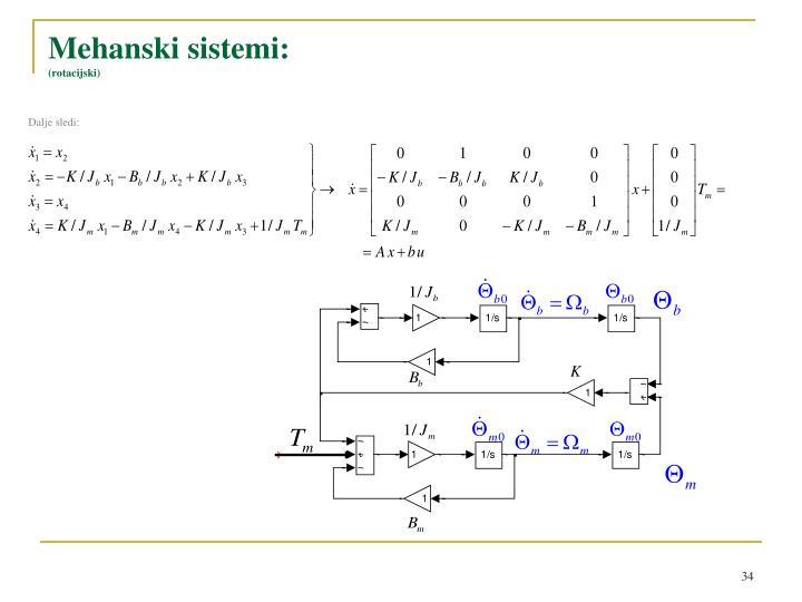 Mehanski sistemi
