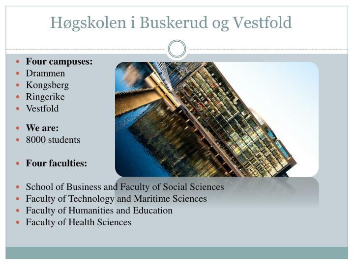 Høgskolen i Buskerud og Vestfold