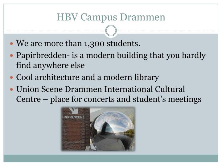 HBV Campus Drammen