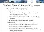 teaching financial responsibility continued12