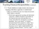 teaching financial responsibility continued4