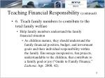 teaching financial responsibility continued5