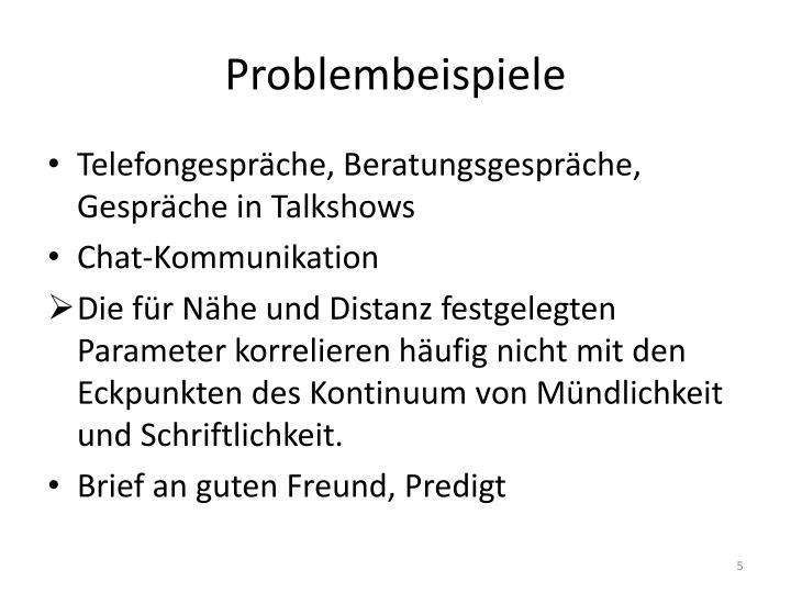 Problembeispiele
