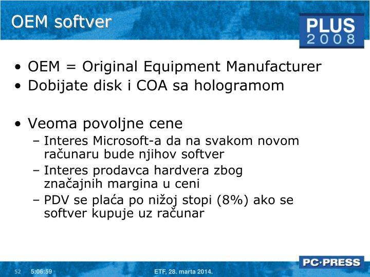 OEM softver