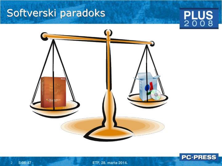 Softverski paradoks