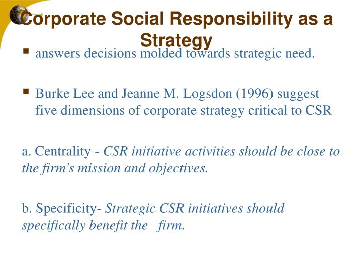 csr case study citi india realizing sustainable growth Do conflicts affect a company's corporate social responsibility policy case in profit growth after corporate social responsibility case study.