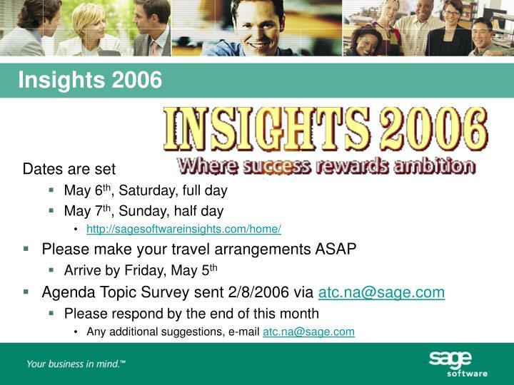 Insights 2006