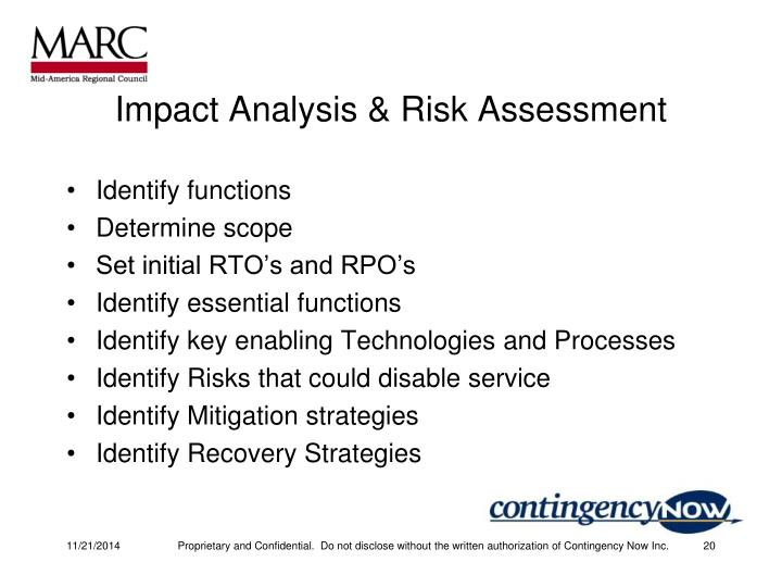 Impact Analysis & Risk Assessment